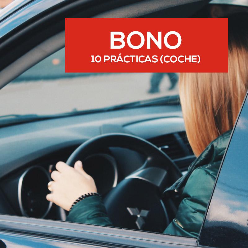 Bono 10 prácticas (Coche)